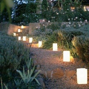 lighting on the walkway for marquee flooring, carpets and walkways
