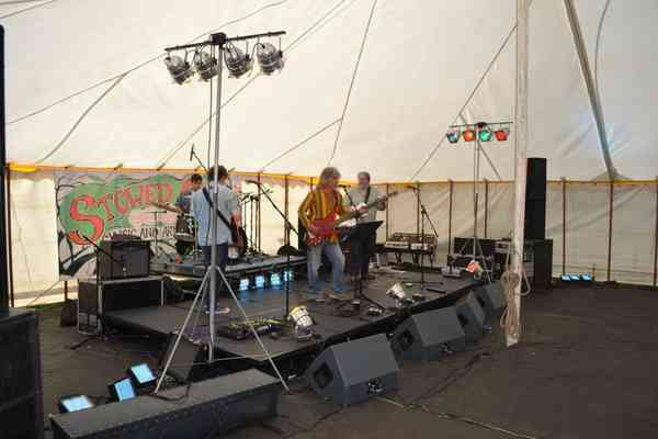 Vintage Marquee for Stowed Out Festival 2014
