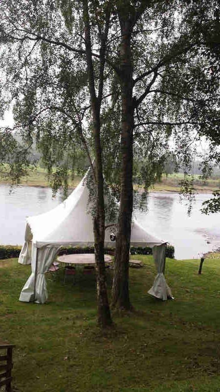 Fishing marquee tent on river Tay (2)