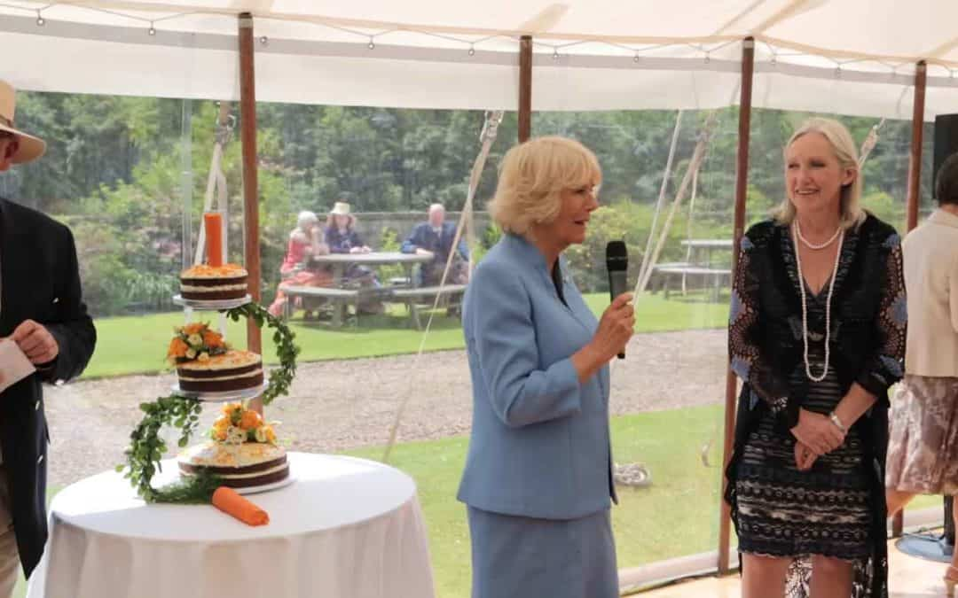 VIDEO: Royal visitor celebrates 85 years of Scotland's Gardens