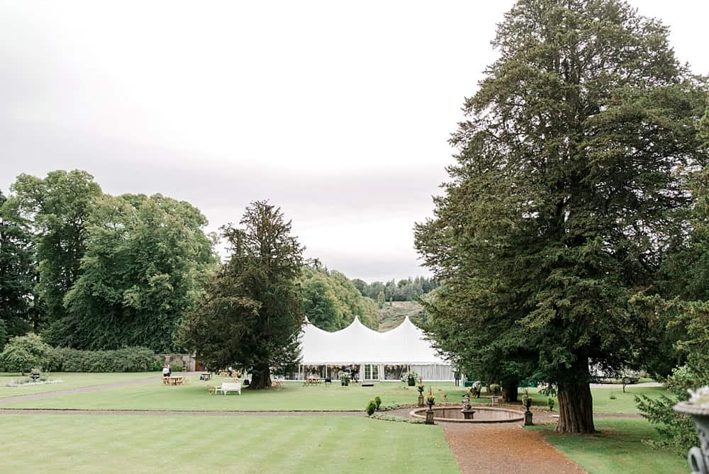 wedding marquee hire Scotland - murthly castle (10)