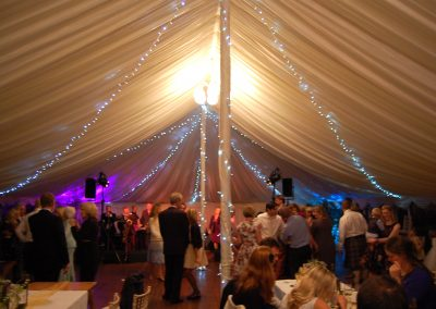 marquee hire for winter wedding in Scotland