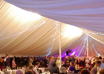 heated marquee hire for wedding in winter